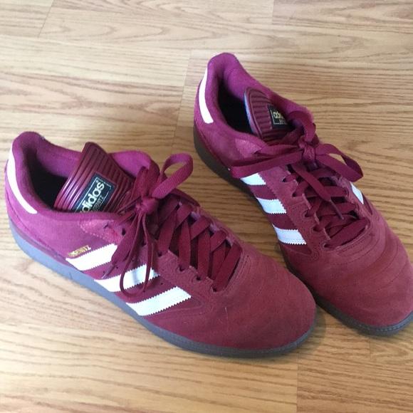 Adidas zapatos hombre  orginals Busenitz Maroon Suede poshmark